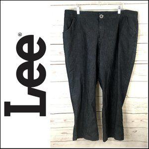 *3/$18*Lee Regular Fit Trouser Pant in Indigo Rise